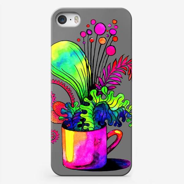 Чехол iPhone «Чашечку лета?»