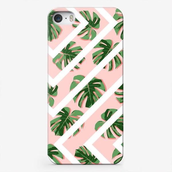 Чехол iPhone «Модное розовое лето»