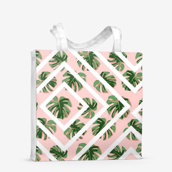 Сумка-шоппер «Модное розовое лето»