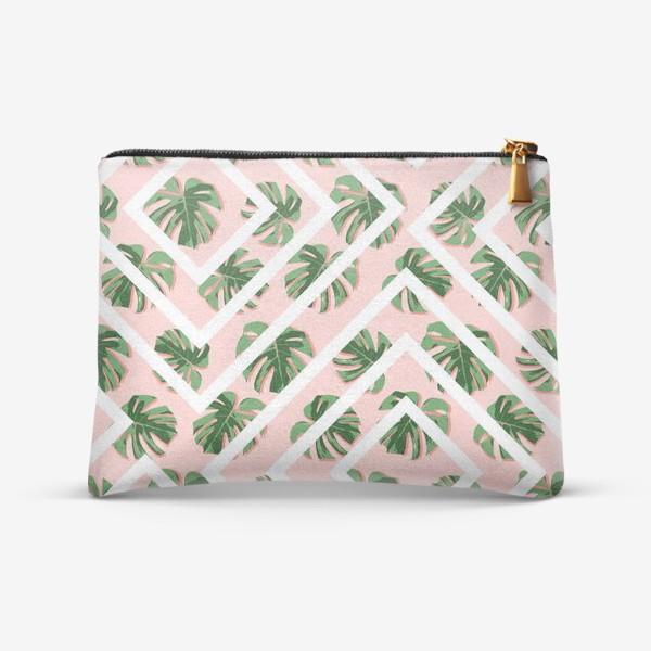 Косметичка «Модное розовое лето»