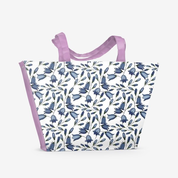 Пляжная сумка «Колокольчики»