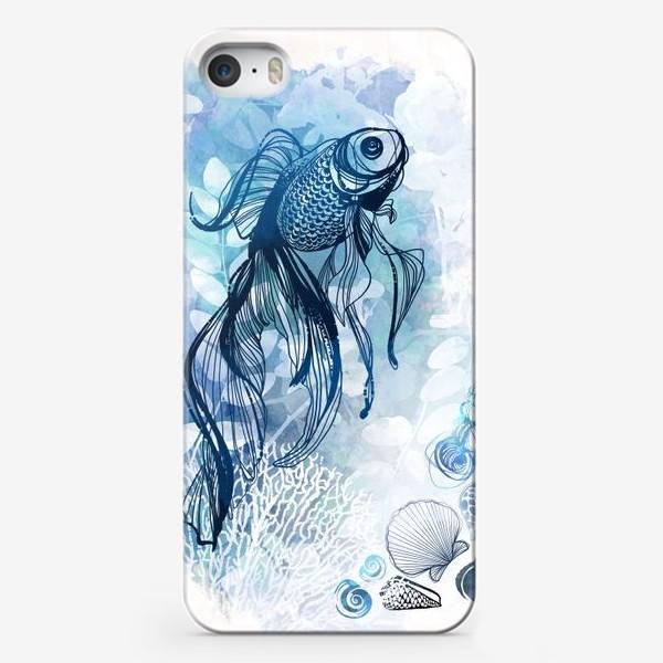 Чехол iPhone «рыба в аквариуме»