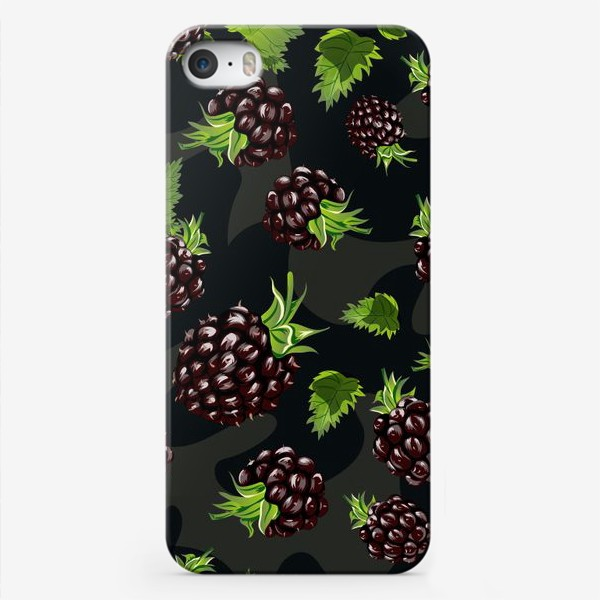 Чехол iPhone «Ежевички»