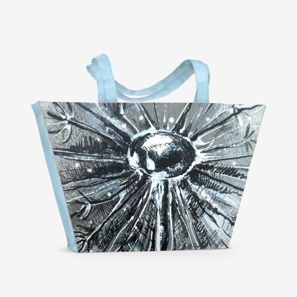 Пляжная сумка «одуван»