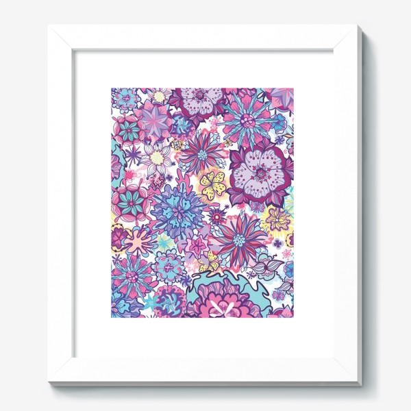 Картина «Летние цветы »