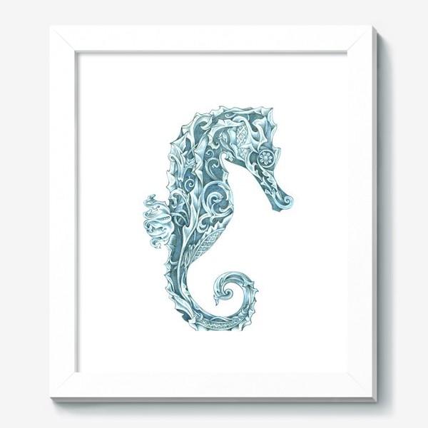 Картина «Морской конёк стилизованный»