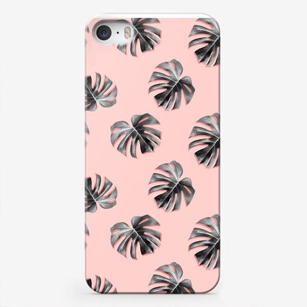 Чехол iPhone «Чёрно-белое лето»