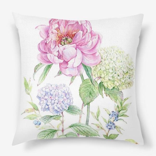 Подушка «Ботаника»