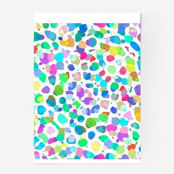 Постер «Разноцветная галька»