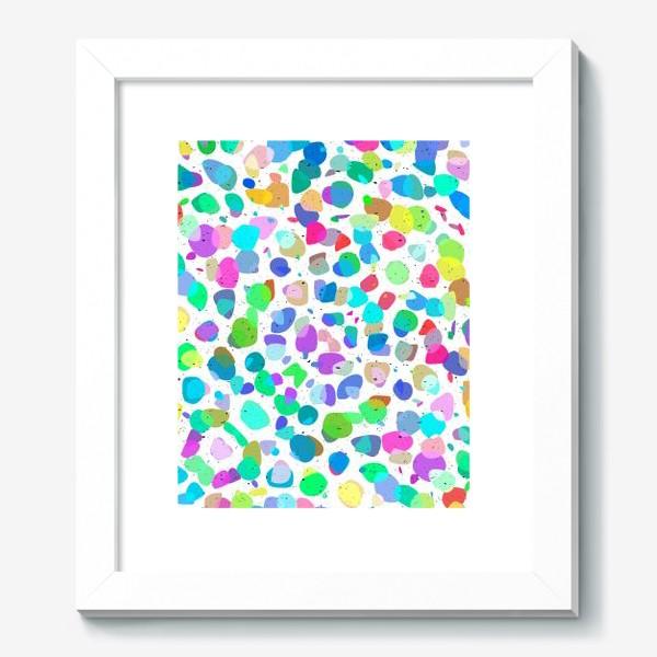 Картина «Разноцветная галька»