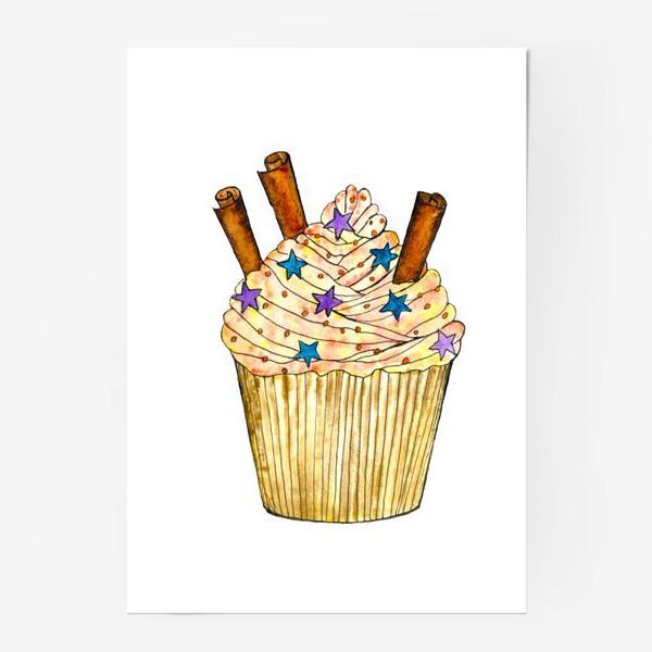 Постер «Cupcake for joy»