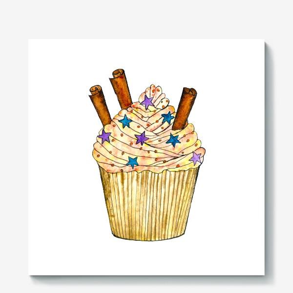 Холст «Cupcake for joy»