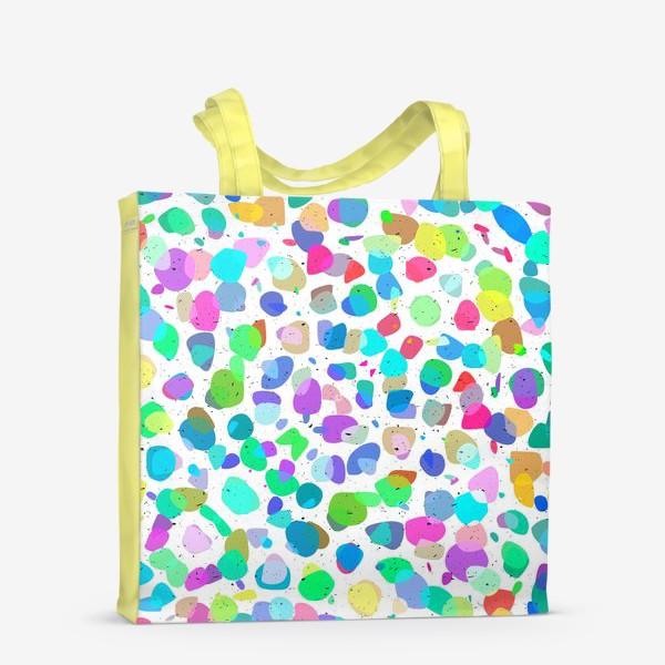 Сумка-шоппер «Разноцветная галька»