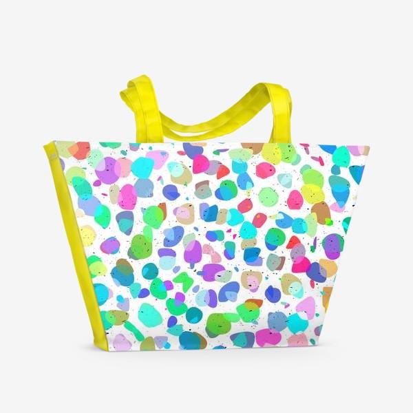 Пляжная сумка «Разноцветная галька»