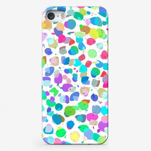 Чехол iPhone «Разноцветная галька»