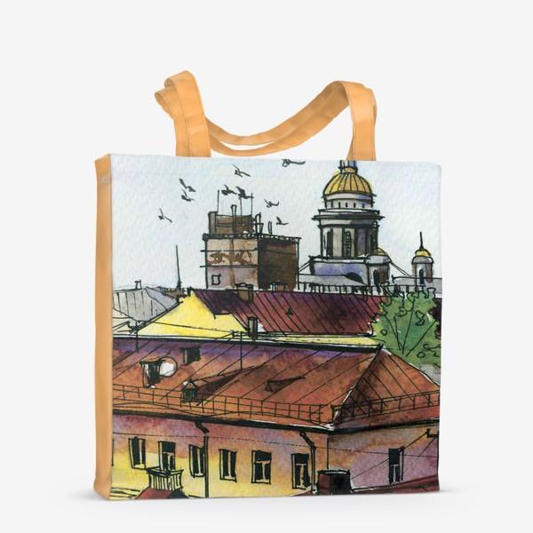 Сумка-шоппер «Крыши Петербурга»