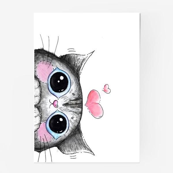 Постер «Карандашный кот Боська»