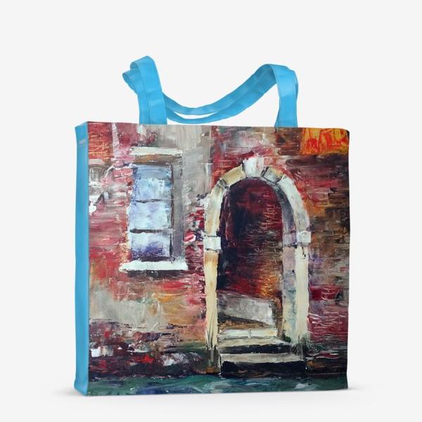 Сумка-шоппер «Сны о Венеции. Rio di San Zan Degola.»