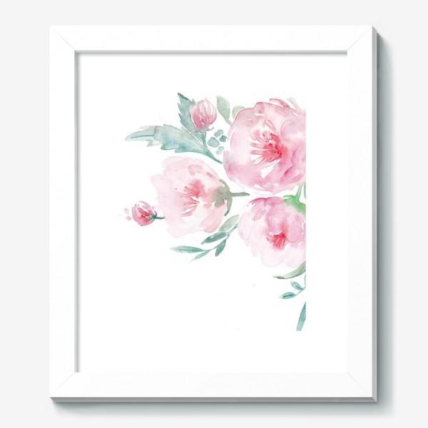 Картина «Нежно-розовые пионы»