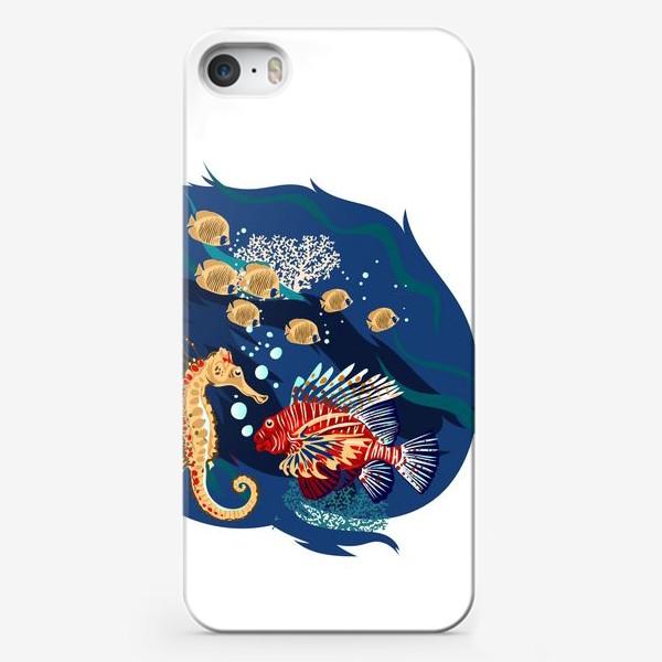 Чехол iPhone «Морские гады»