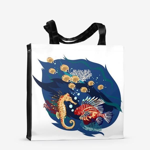 Сумка-шоппер «Морские гады»