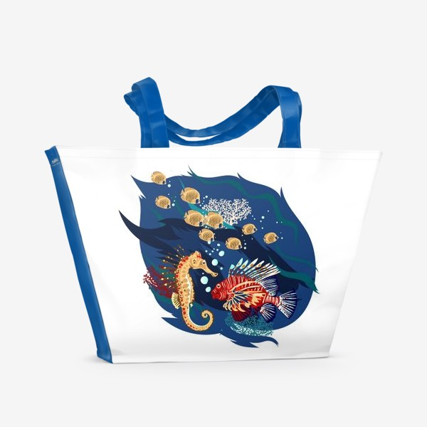 Пляжная сумка «Морские гады»