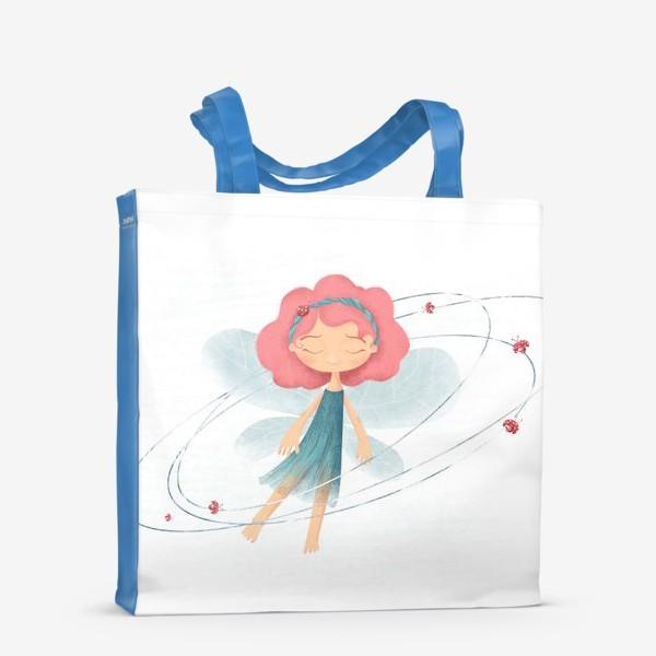 Сумка-шоппер «Маленькая принцесса жуков и бабочек»