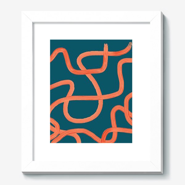 Картина «абстрактные линии»