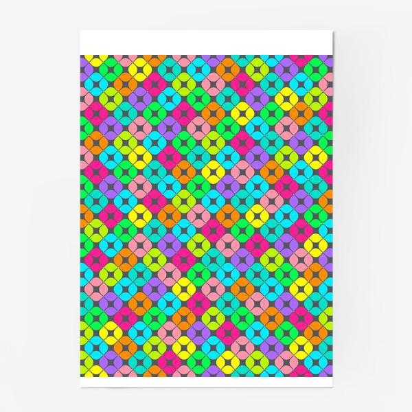 Постер «Игры в мозаику»