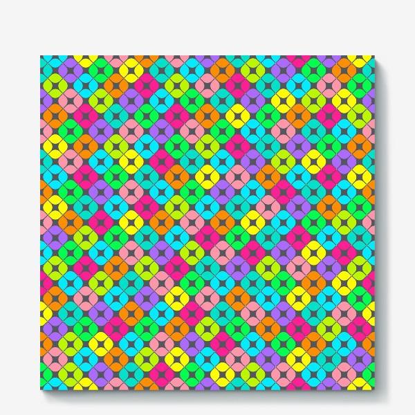 Холст «Игры в мозаику»