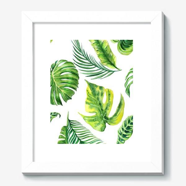 Картина «Тропческе листья»