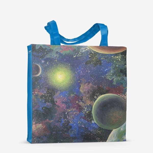 Сумка-шоппер «Галактика . Порядок в хаосе. »