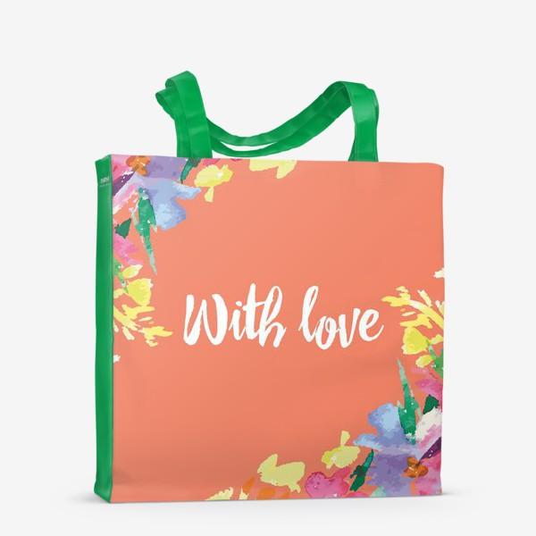 Сумка-шоппер «Подарок с любовью»