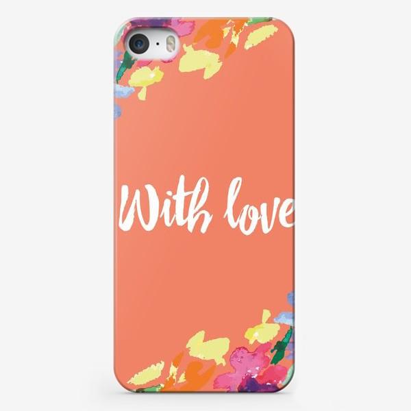 Чехол iPhone «Подарок с любовью»