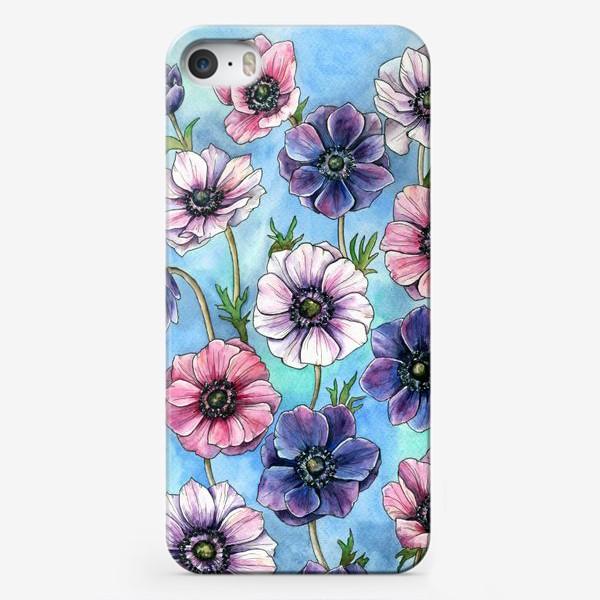 Чехол iPhone «Анемоны »