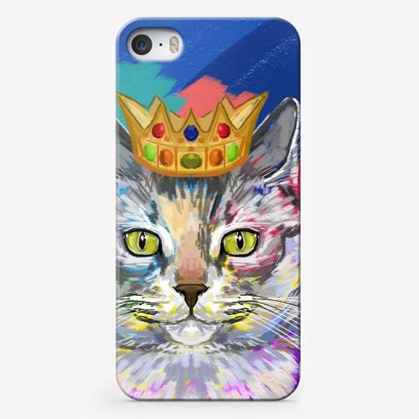Чехол iPhone «Кошка с короной», купить в интернет-магазине ...