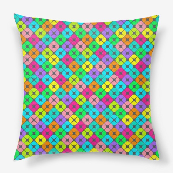 Подушка «Игры в мозаику»
