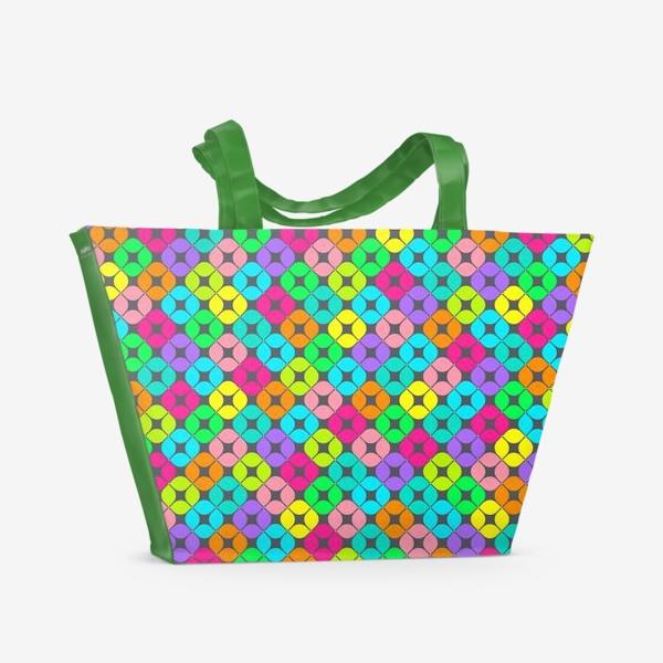 Пляжная сумка «Игры в мозаику»