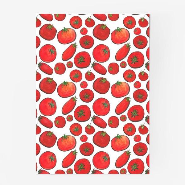 Постер «Паттерн урожай томатов»
