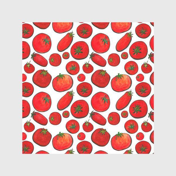 Шторы «Паттерн урожай томатов»