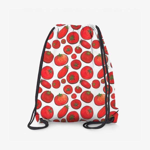 Рюкзак «Паттерн урожай томатов»