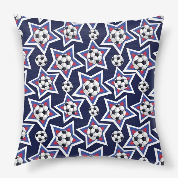 Подушка «Звездный футбол»