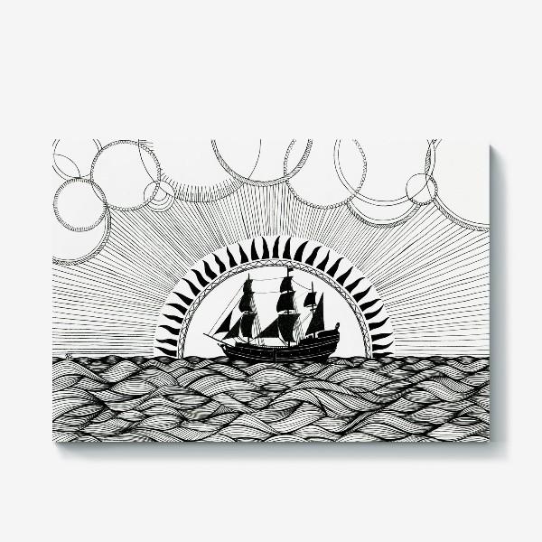 Холст «Корабль»