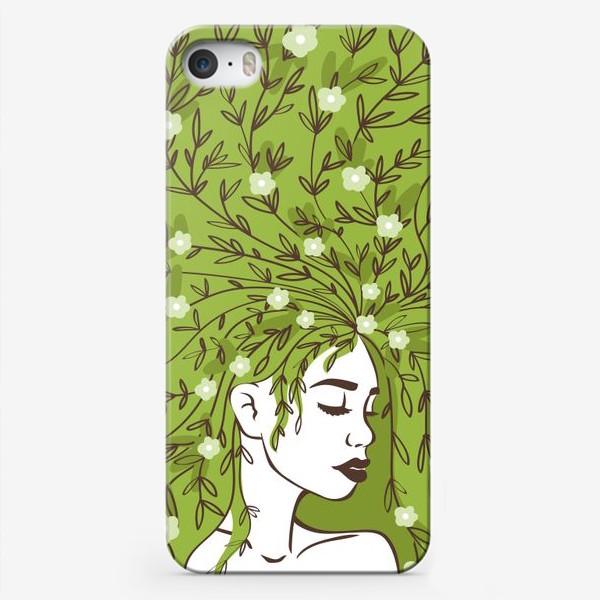 Чехол iPhone «Цвети»
