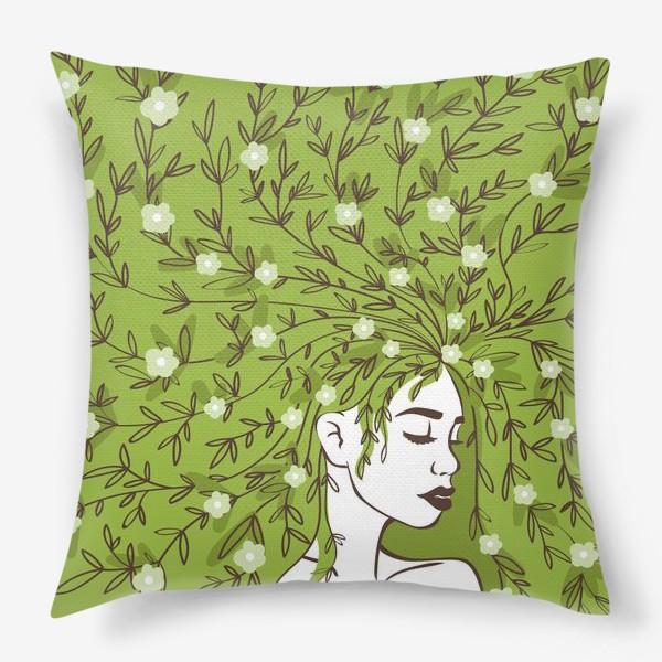 Подушка «Цвети»