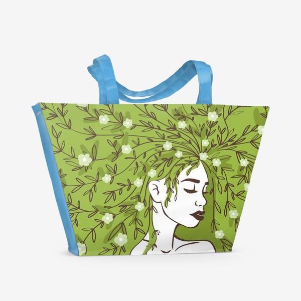 Пляжная сумка «Цвети»
