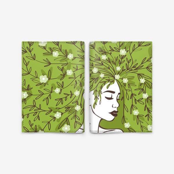 Обложка для паспорта «Цвети»