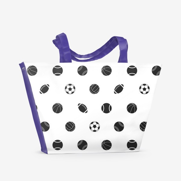 Пляжная сумка «Спортивный паттерн 2»