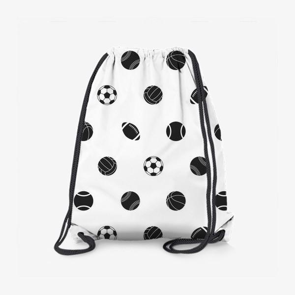 Рюкзак «Спортивный паттерн 2»