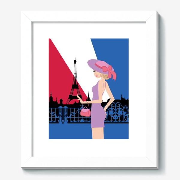 Картина «Paris girl»